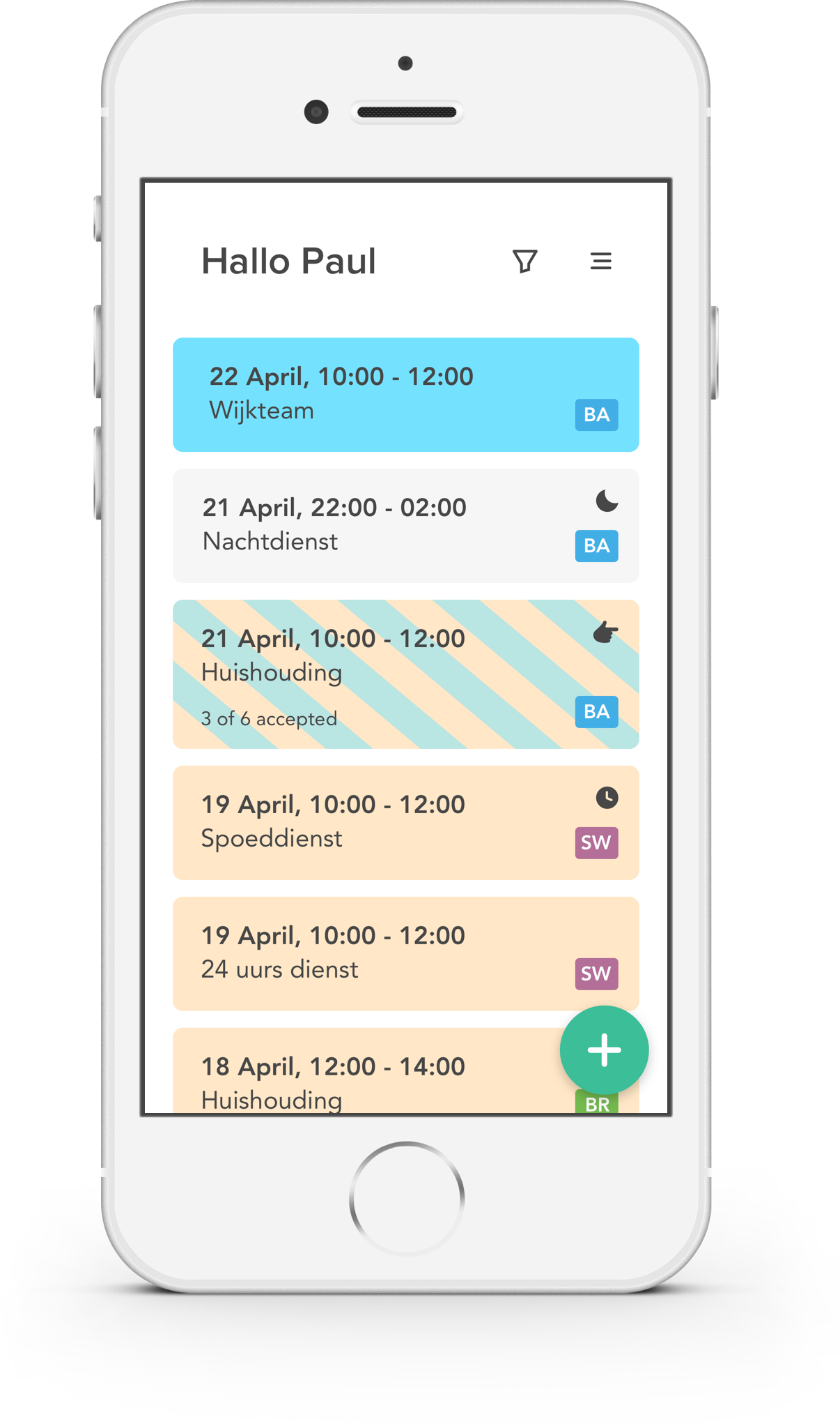 clevergig planning software smartphone app