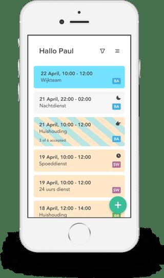 clevergig smartphone app voor je freelancers of uitzendkrachten