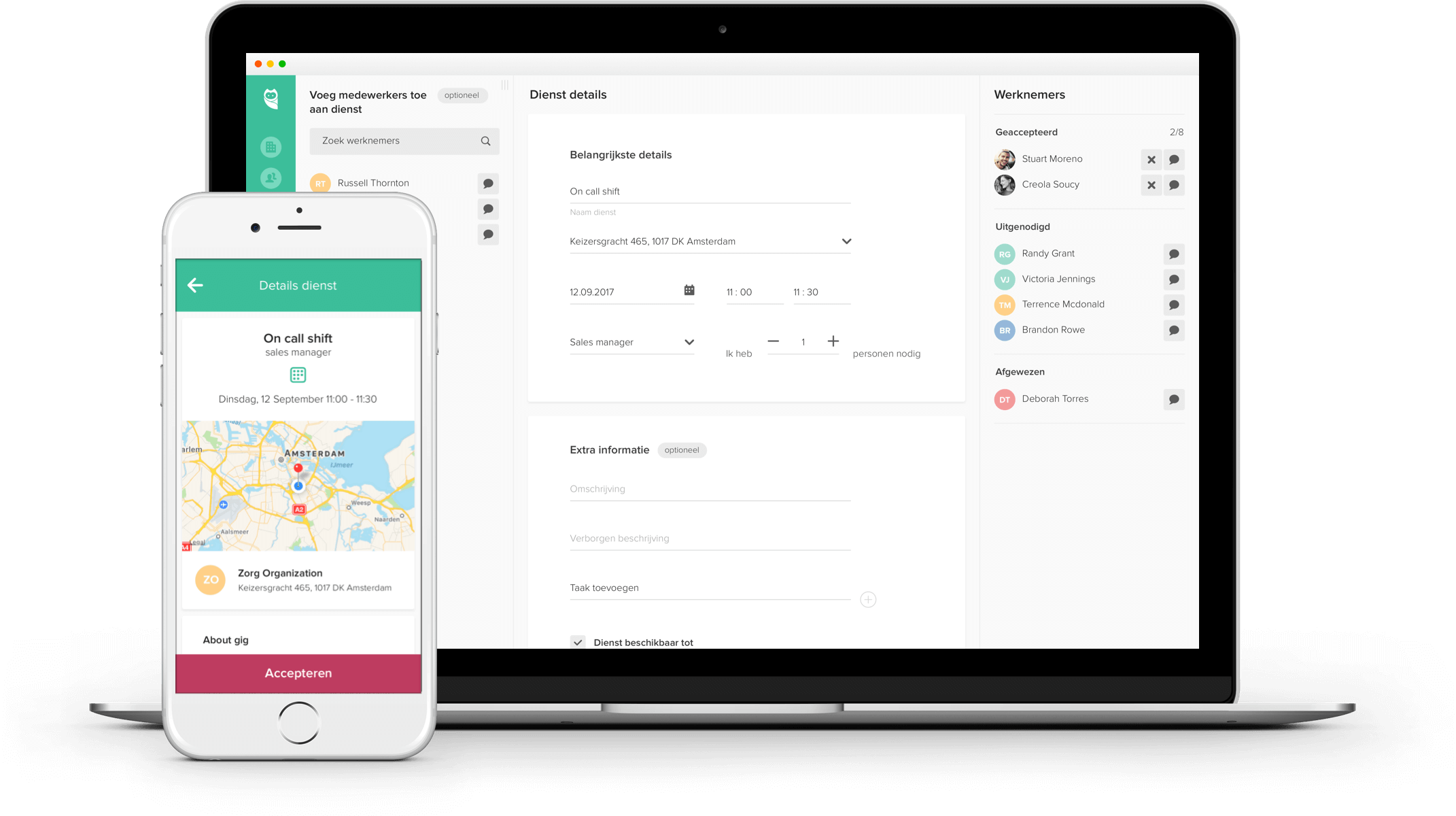 Real-time availability